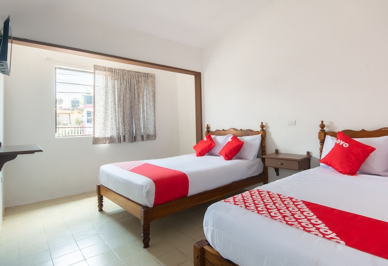 Hotel el Arabe, Xalapa, Camera Standard, 2 letti queen, Camera