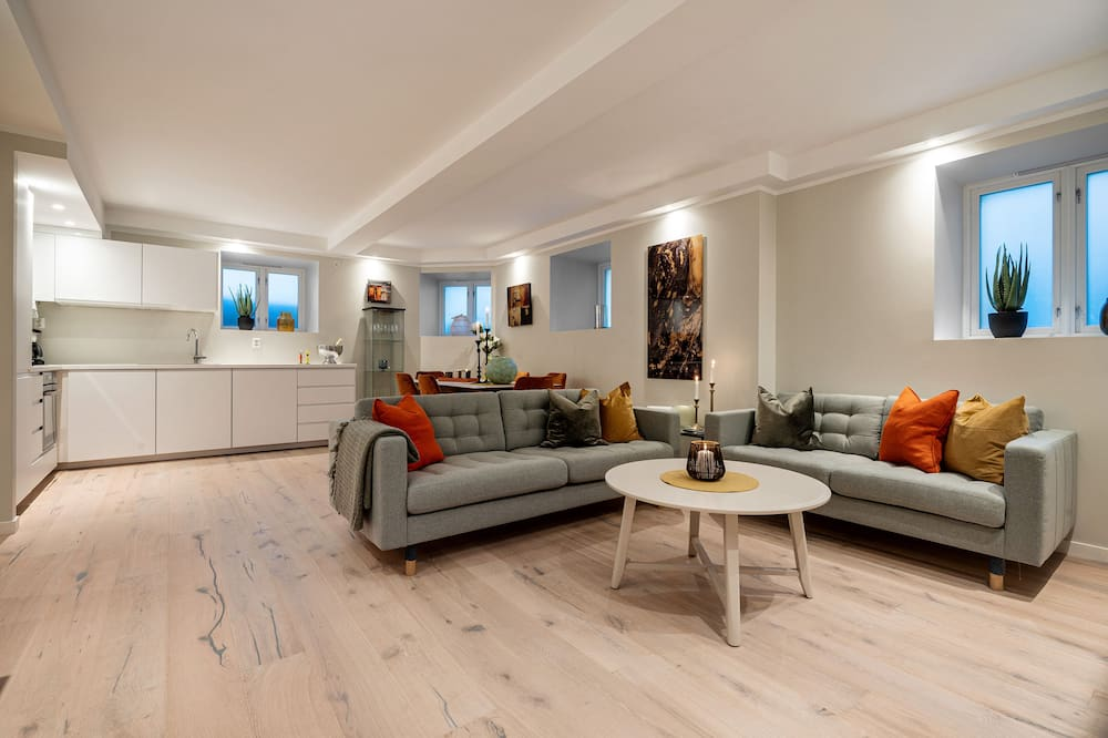 Departamento, 3 habitaciones (Ground Floor, apt 1) - Sala de estar