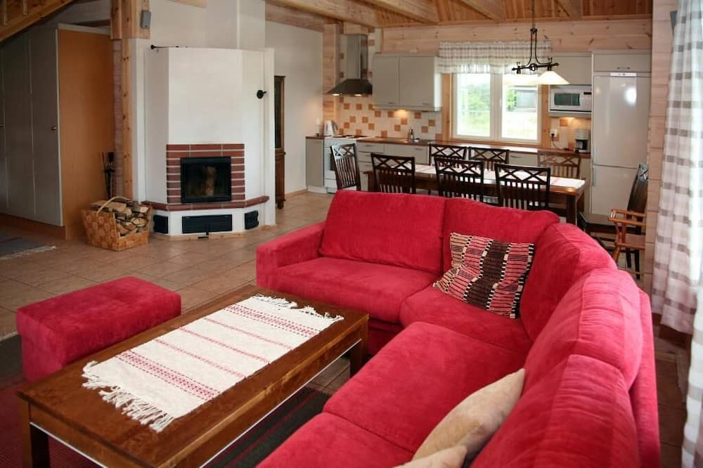 Classic House, Sauna - Living Room