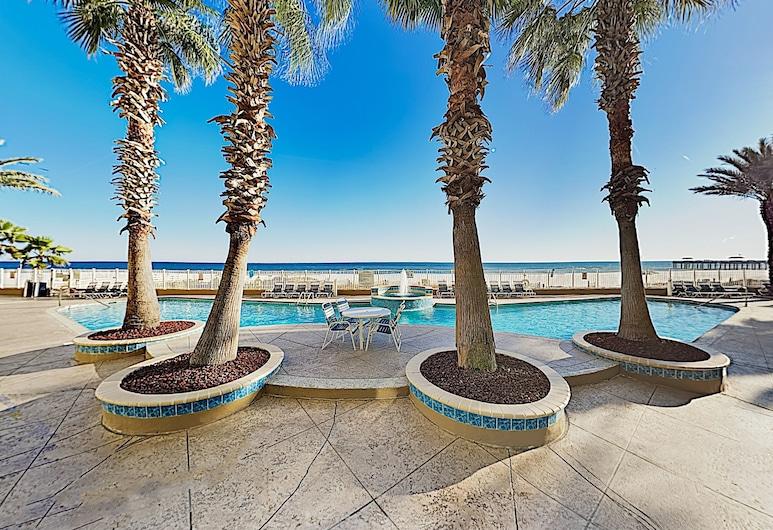 Oceanfront Paradise W/ 2 Pools & Beach Access 4 Bedroom Condo, Pantai Orange , Condo, 4 Bedrooms, Kolam
