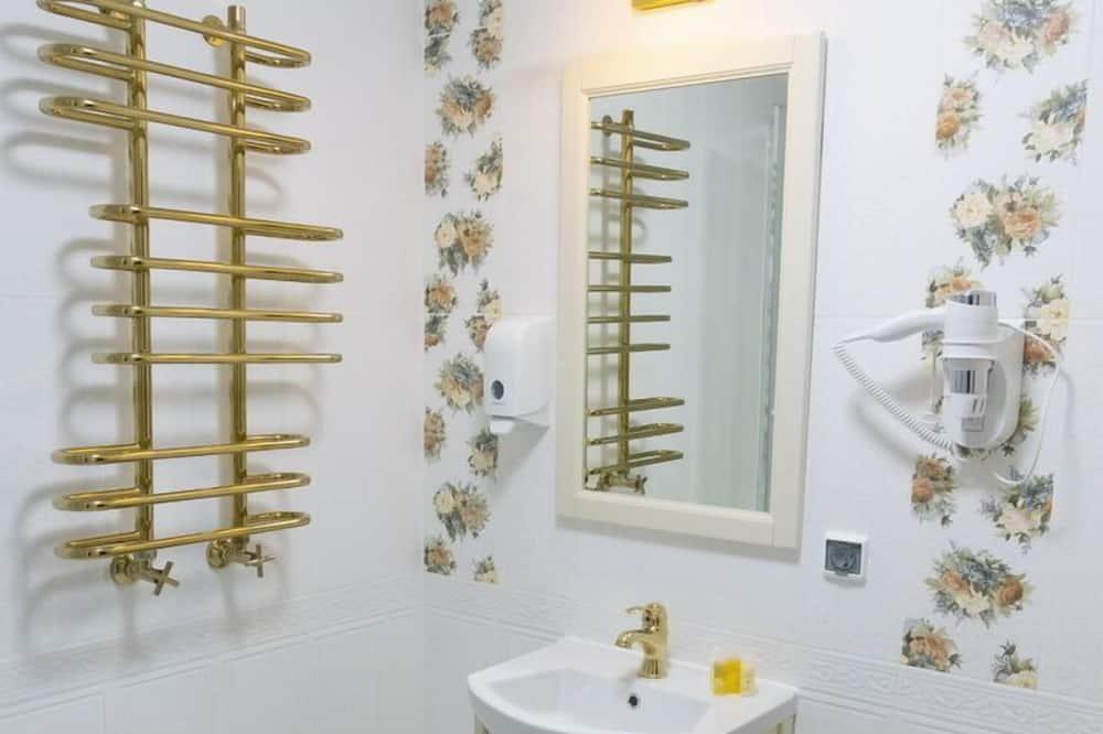 Luxus szoba - Fürdőszobai felszereltség