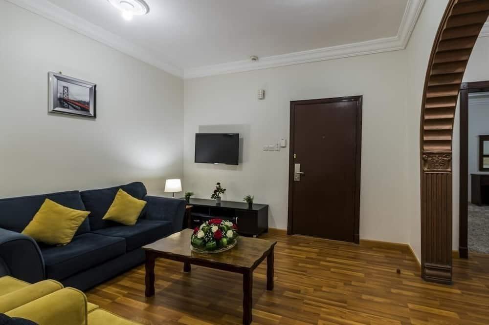 アパートメント 2 ベッドルーム キッチン - リビング エリア