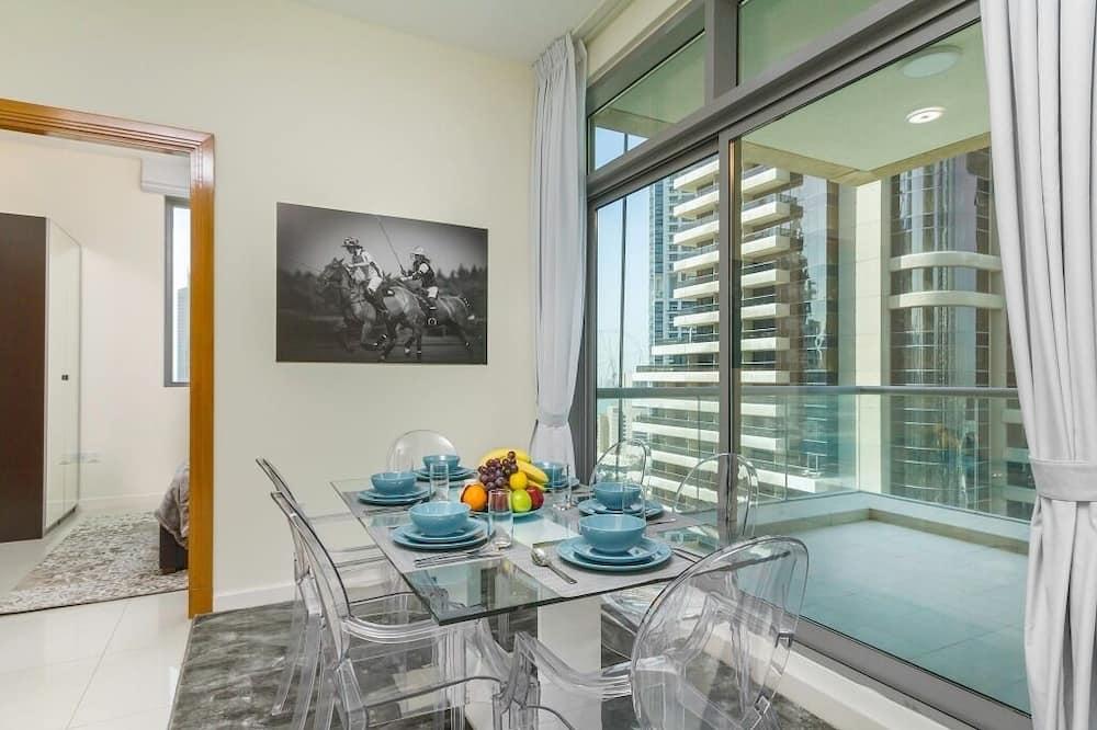 豪華公寓 - 客房內用餐