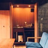 منزل (Private Vacation Home, Open-air Bath) - منطقة المعيشة