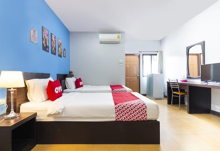 OYO 802 Two Fo House, Kanchanaburi, Superior Twin Room, Guest Room
