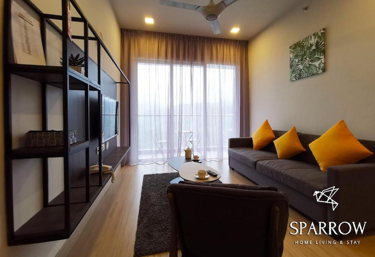 Sparrow Windmill Homes Genting, Genting Highlands, 2 BR Duplex, Living Area