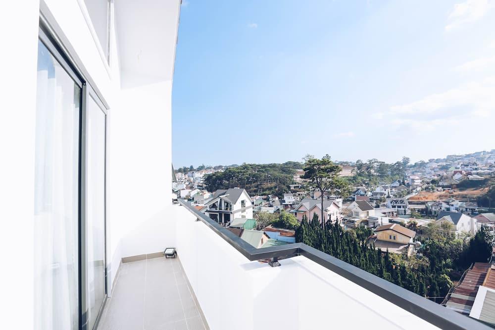 Penthouse, Balkon, uitzicht op bergen - Balkon