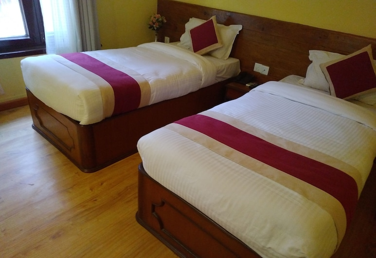 Hotel Green Plum, Kathmandu, Deluxe-herbergi fyrir tvo, Herbergi