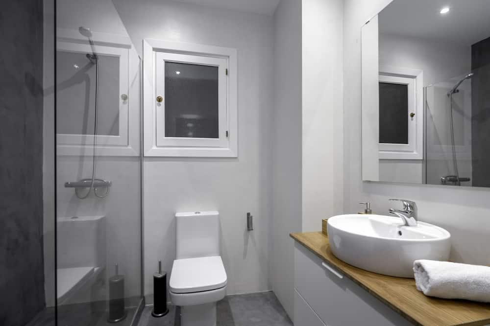 アパートメント 1 ベッドルーム バルコニー ビーチサイド - バスルーム