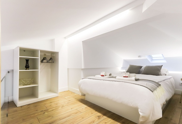 Cosy Santos Mezzanine By Homing, Lissabon, Lejlighed - 1 soveværelse - ikke-ryger, Værelse