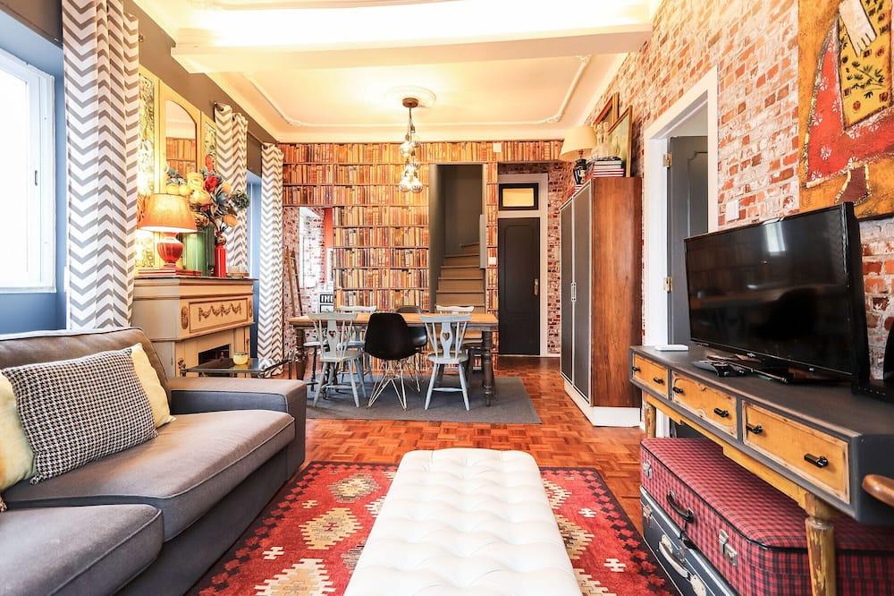 Appartamento, 2 camere da letto, non fumatori - Area soggiorno