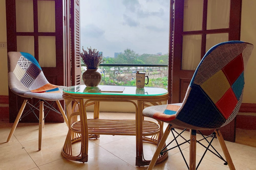 Female Dormitory Room (Bed in 8-bed) - Balcony View