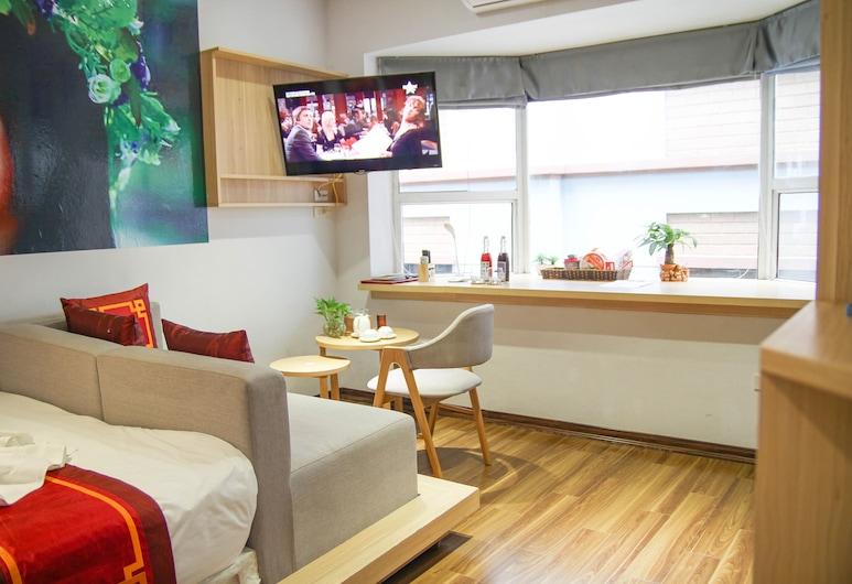DinkPao' House 1, Hanoi, Luxury stuudio, vaade linnale, Lõõgastumisala