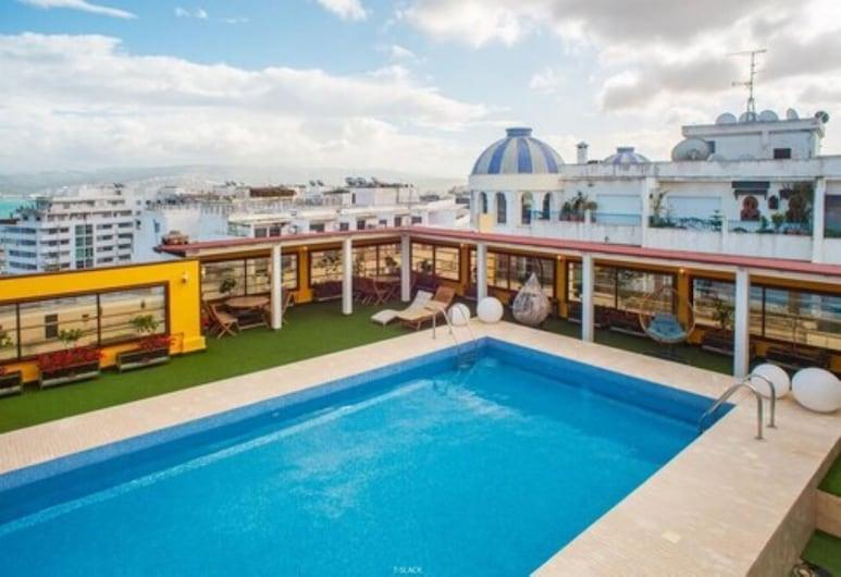 Hotel Tanjah Flandria, Tangier, Rooftop Pool