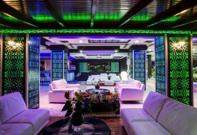 Hotel Tanjah Flandria , Tanger, Lounge i lobby