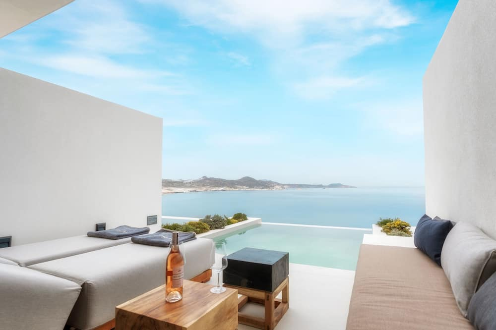 Deluxe Suite, Private Pool (Panoramic Sea View) - Terrace/Patio