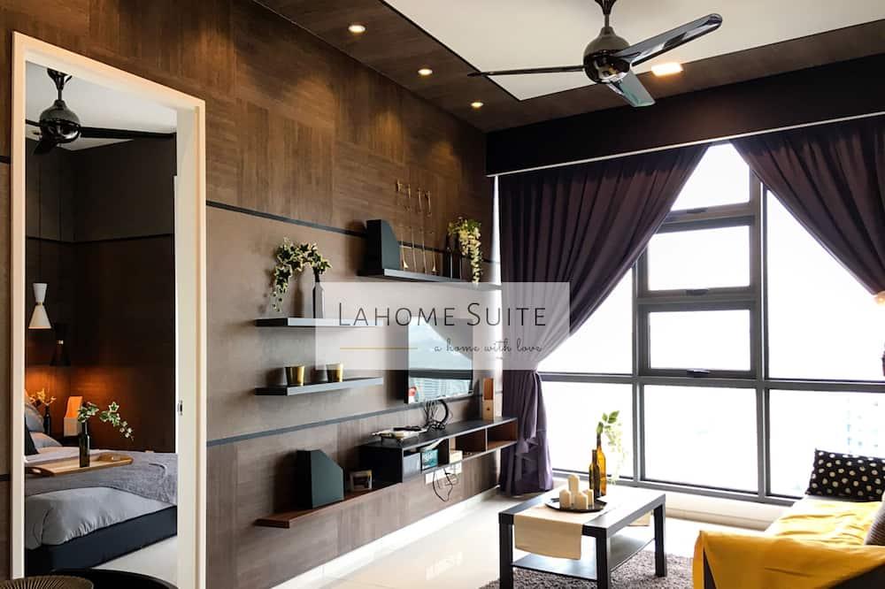 Dizajnový apartmán (Suite32) - Obývacie priestory