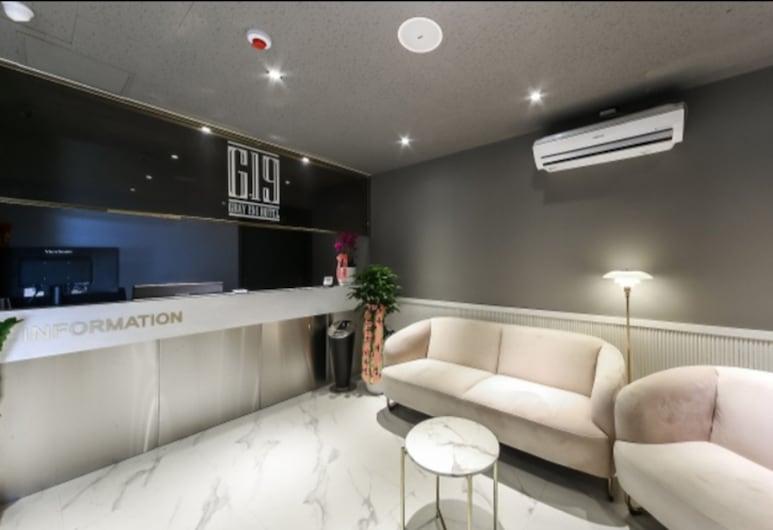 Gray 194 Hotel, בוסאן, קבלה