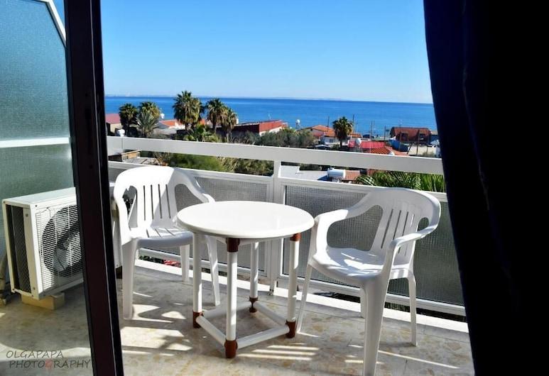 Pelides Apartments, Larnaca, Štúdio, Balkón
