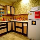 Yhteismajoitus, Sekamajoitus (1 single bed) - Jaettu keittiö