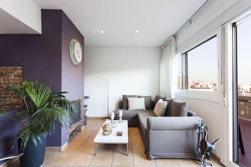 Apartmán, 1 spálňa (2589) - Obývačka