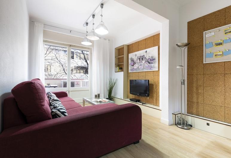 AB Eixample Viladomat Apartment, Barselóna, Íbúð - 3 svefnherbergi (894), Stofa