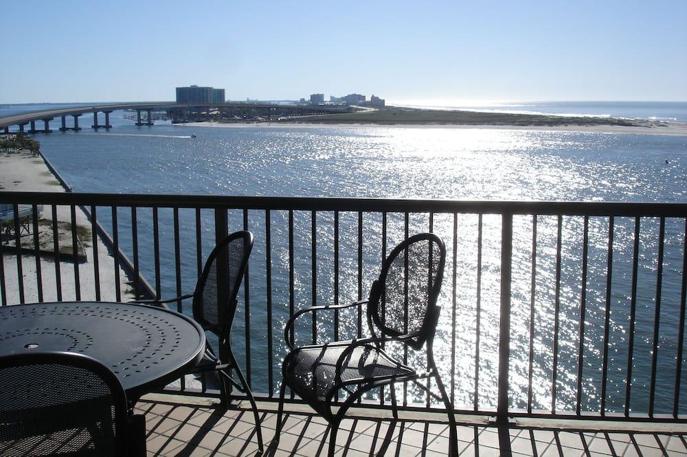 Kondominium, Beberapa Tempat Tidur, balkon, pemandangan pantai - Balkon