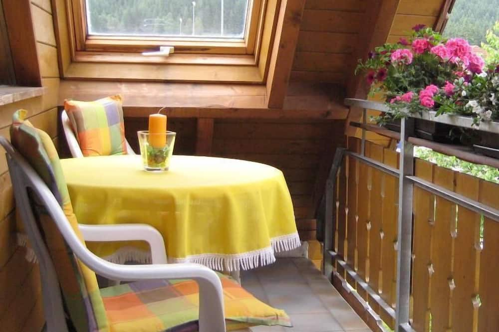 Apartamentai, 1 miegamasis (Hochfirst) - Balkonas