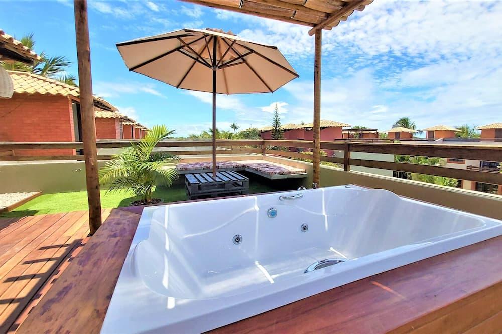 Шале «Премиум» - Индивидуальная спа-ванна