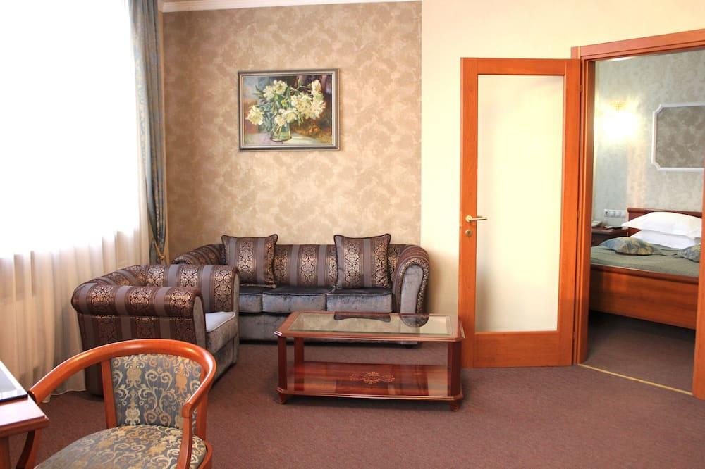 Розкішний номер - Вітальня