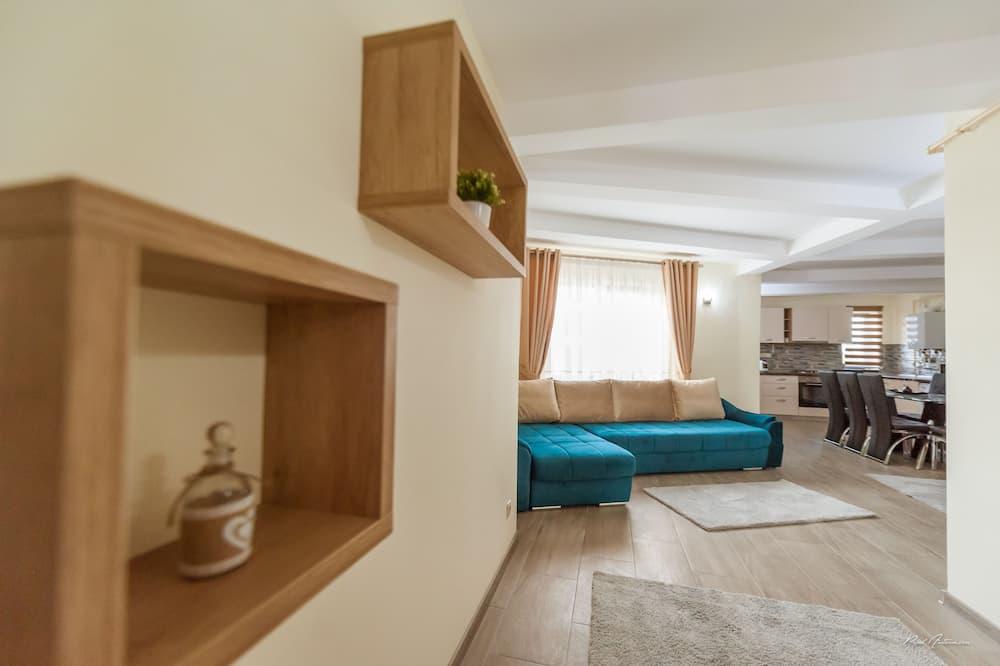 Apartamento de Luxo - Área de Estar