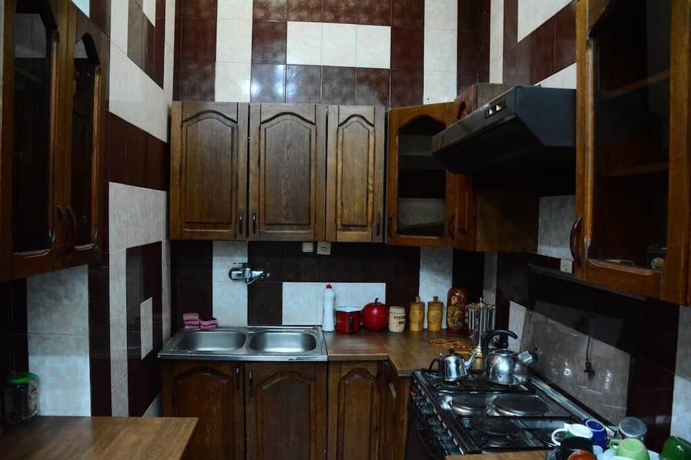 חדר משפחתי - מטבח משותף