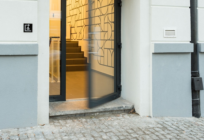 Apartamenty LAS, Wroclaw, Vchod do hotelu