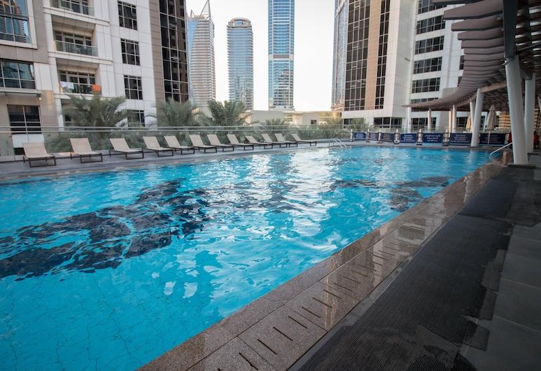 One Perfect Stay Executive Tower, Dubaj, Vonkajší bazén