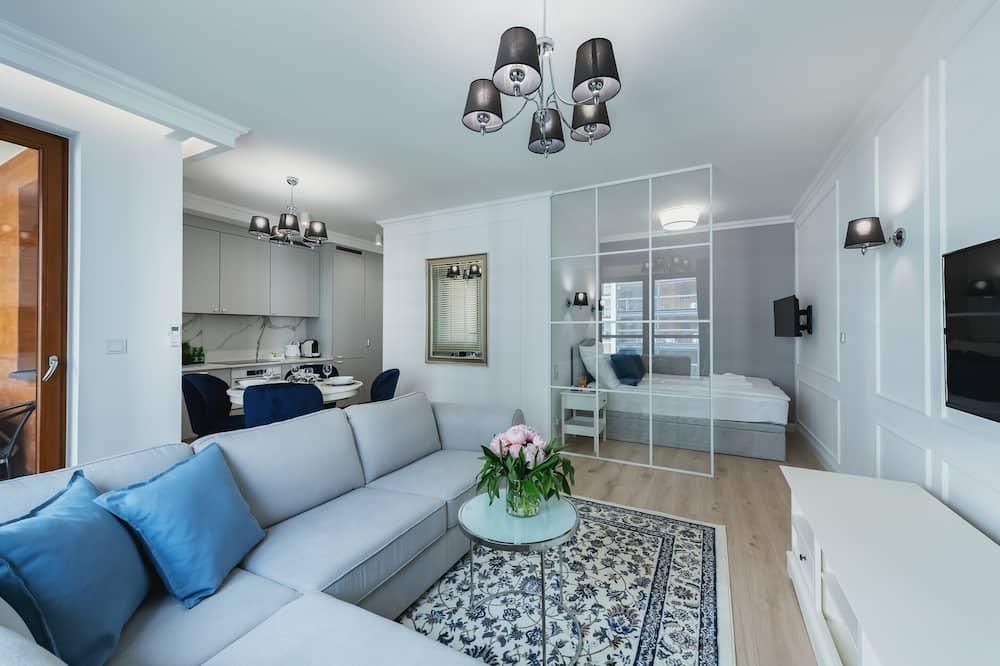 Exclusive Διαμέρισμα (Grzybowska 94) - Περιοχή καθιστικού