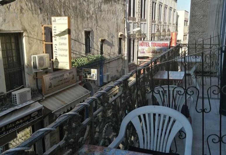 Hostel Touahine, Tanger, Gemeinsamer Schlafsaal, Balkon