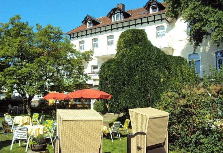 Hotel Villa Luise, 巴德羅滕菲爾德, 花園