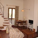 Dupleks Superior, 2 kamar tidur, pemandangan kebun (Frantoio) - Ruang Keluarga