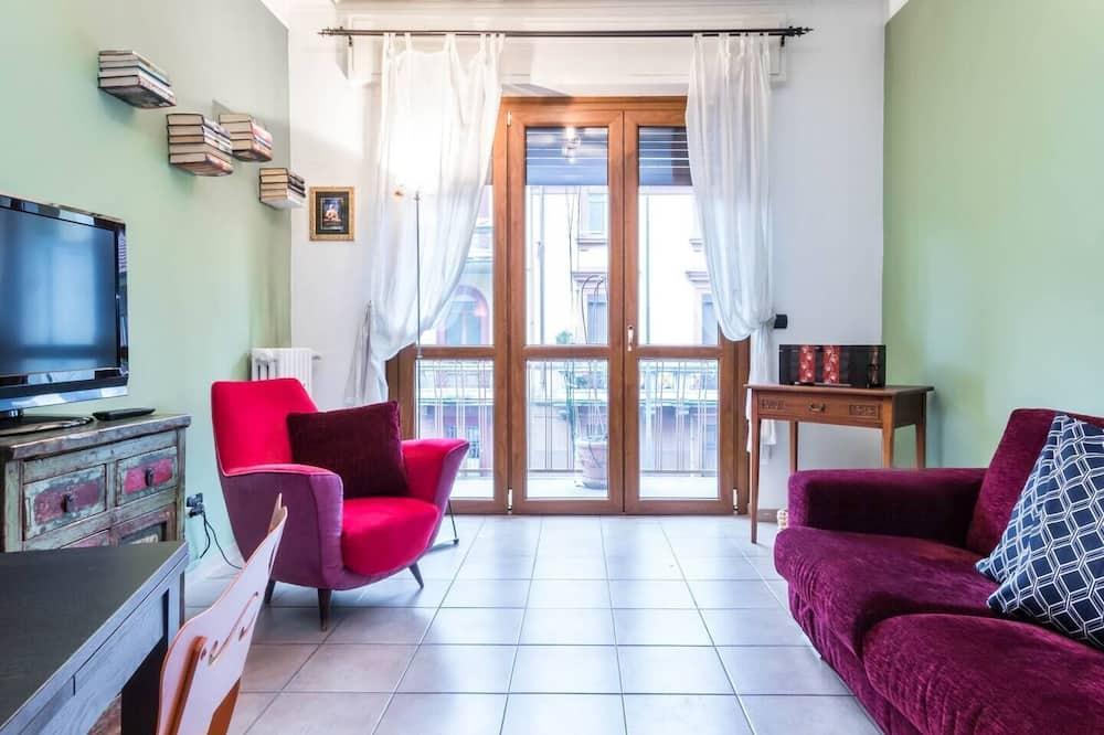 公寓, 1 間臥室, 露台 - 客廳