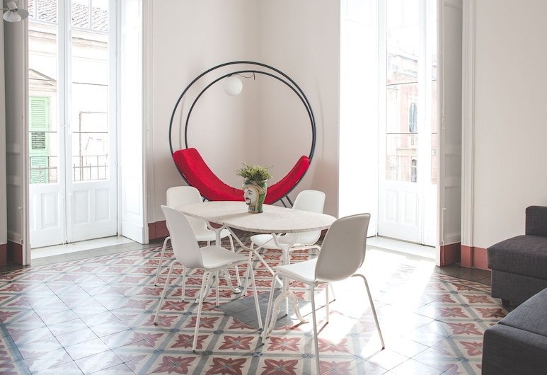 Casa Torrisi, Catania, Apartment, 1 Bedroom, Living Area