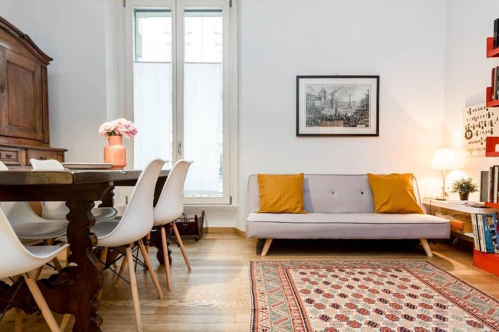 Appartement, 2 chambres, terrasse - Salle de séjour