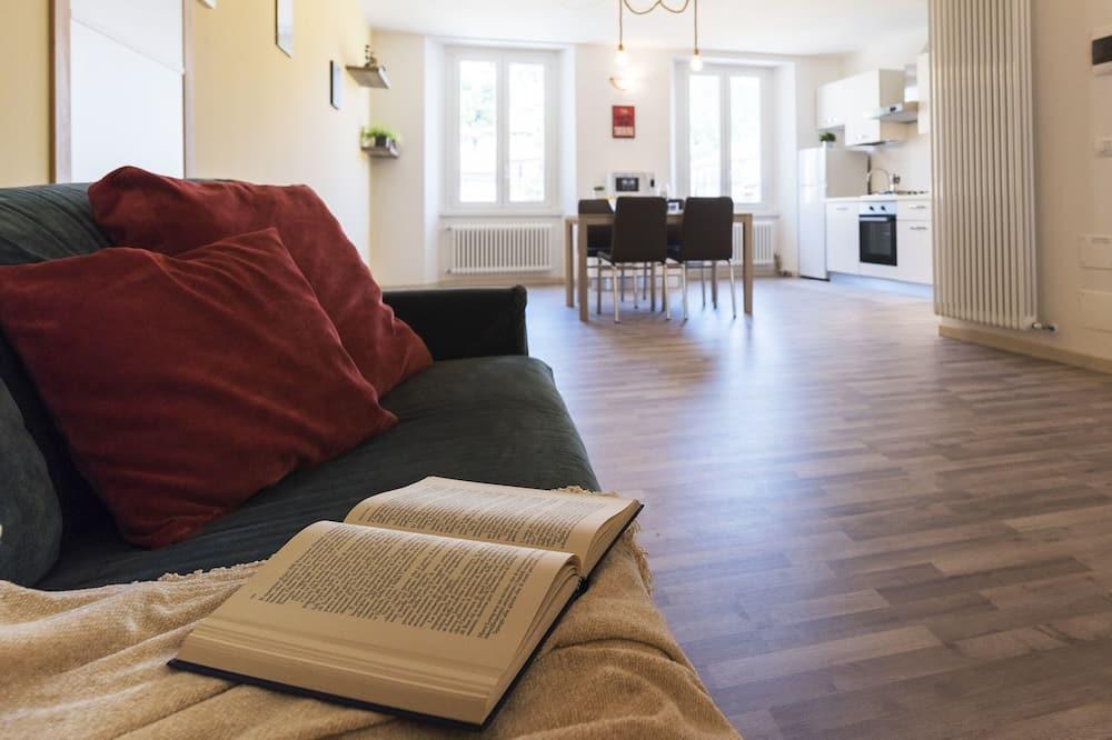 Apartman, 1 spavaća soba, balkon - Dnevna soba