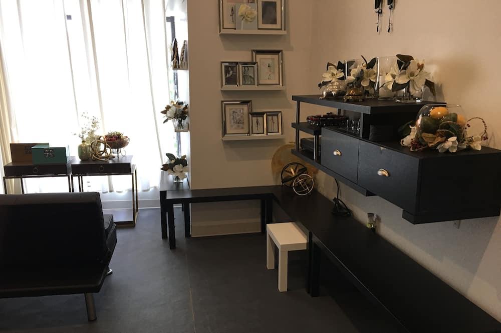 Apartmán typu Executive, 2 spálne, kuchyňa, výhľad na mesto - Obývacie priestory