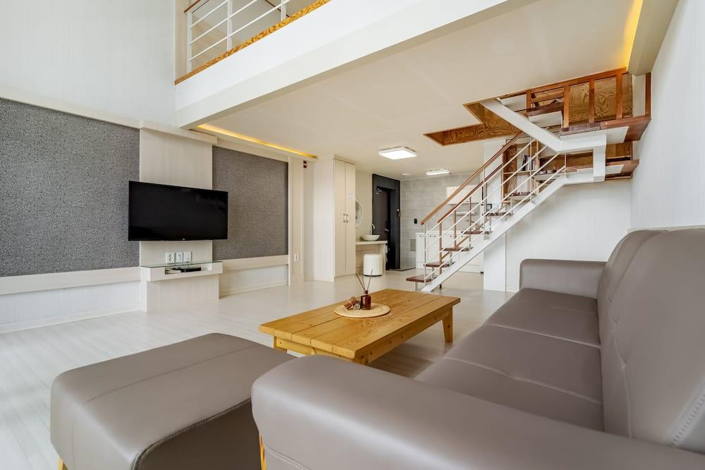Habitación (204) - Sala de estar