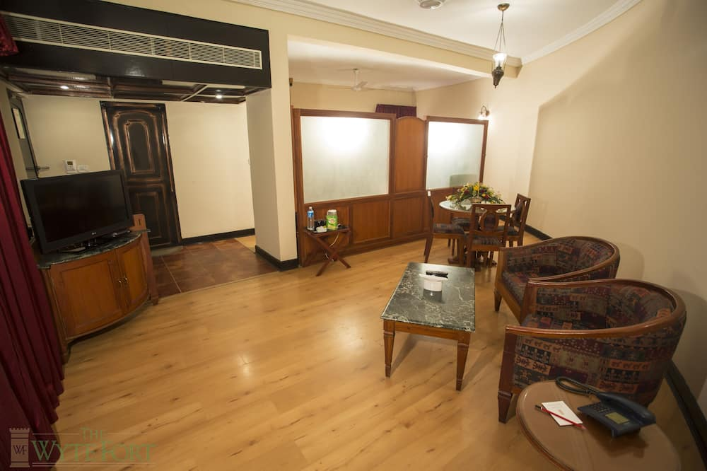 Premium Στούντιο-Σουίτα - Περιοχή καθιστικού