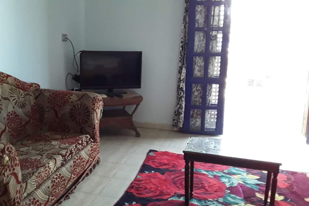 公寓, 1 间卧室, 河景 - 起居室