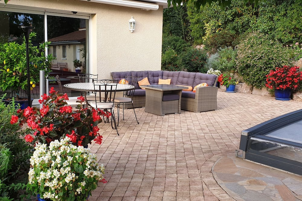 Phòng Suite dành cho gia đình - Quang cảnh vườn