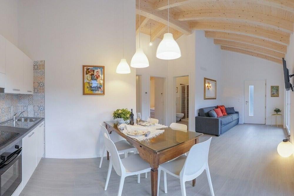Departamento, 2 habitaciones, 2 baños, con vista al jardín (Torre) - Sala de estar
