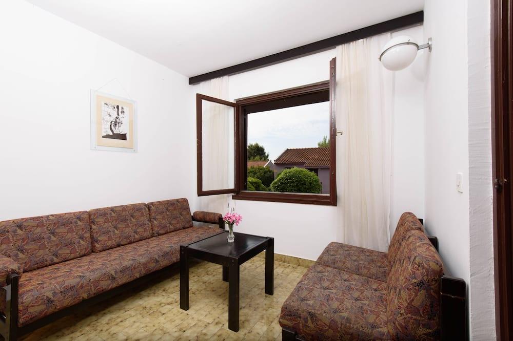 Classic-lejlighed - 1 soveværelse - terrasse - Stue