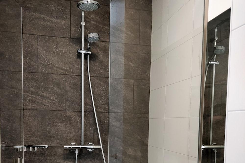 Chambre Double, 1 grand lit (Blauw) - Salle de bain